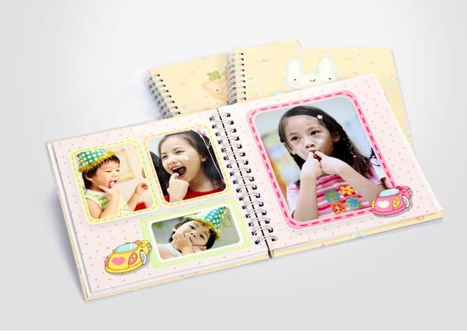 宝宝成长日记 6x6英寸